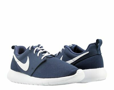 8fd354edbcb9 Nike Roshe One (GS) Midnight Navy White Big Kids Running Shoes 599728-