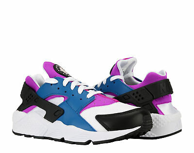 c28a0f889146 Nike Air Huarache Blue Jay White-Hyper Violet Men s Running Shoes 318429-415