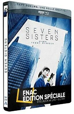 SEVEN SISTERS Steelbook Blu Ray 4K + Blu Ray Edition FNAC NEUF SOUS BLISTER