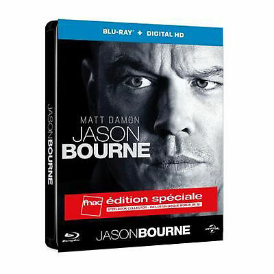 Jason Bourne Steelbook Blu Ray Edition Fnac Neuf Sous Blister