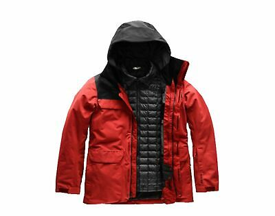 102b64f12b7b The North Face Alligare Thermoball Triclimate Red Black Men s Jacket  A3IFL-WU5
