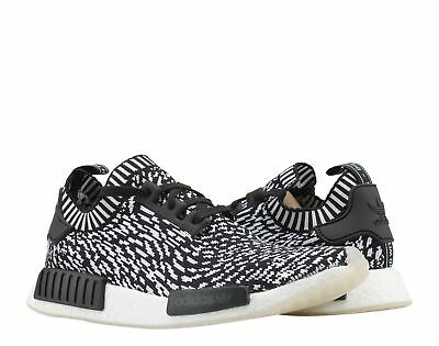 efb02ef0c Adidas NMD R1 PK Primeknit Sashiko Black White Men s Running Shoes BY3013