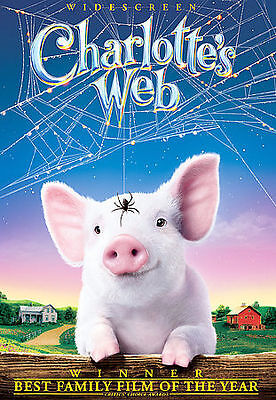 Charlottes Web (DVD, 2007, Widescreen) ***DISC ONLY***