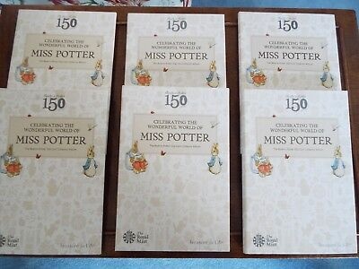 2016 Official Royal Mint Beatrix Potter 50p Coin Collector Album - Brand New