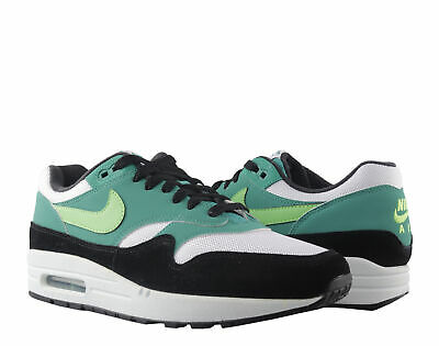 huge discount 95f9c 611b7 Nike Air Max 1 White Green Strike Men s Running Shoes AH8145-107
