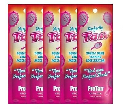 5 Pro Tan - Perfectly Tan - Sunbed Tanning Lotion Sachets