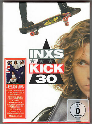 INXS Kick 30 3 x CD + Blu-ray 30th Anniversary Deluxe Edition SEALED