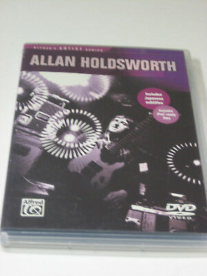Alfred's Artist Series Allan Holdsworth Guitar DVD-Rom Instructional How To