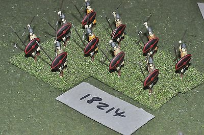 25mm classical / greek - ancient javelinmen 10 figs - inf (18214)