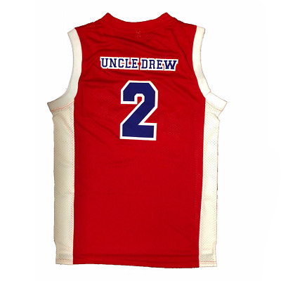 New Men/'s Uncle Drew #34 Harlem Buckets Shaquille O/'Neal Basketball Movie Jersey