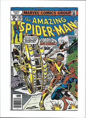 "Amazing Spider-Man #183  [1978 Fn-]  ""Big Wheel!"""