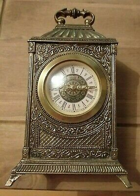 Vintage Mercedes Carriage Clock - Made in West Germany - Wind up