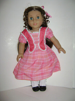 """AMERICAN GIRL DOLL Historical Girl 18"""" MARIE GRACE with Meet OUTFIT NEW"""