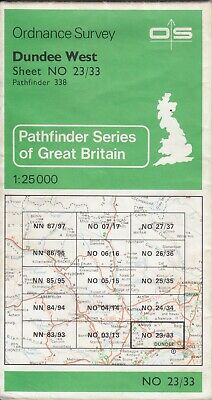 Ordnance Survey Map 1:25,000 Pathfinder Sheet NO 23/33 Dundee West