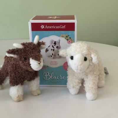 American Girl  Blaire Pig  Plus Lamb and Goat all New!