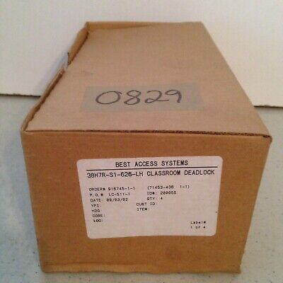 New in Opened Box Best Access Systems 38H7R-S1-626-LH Classroom Deadlock