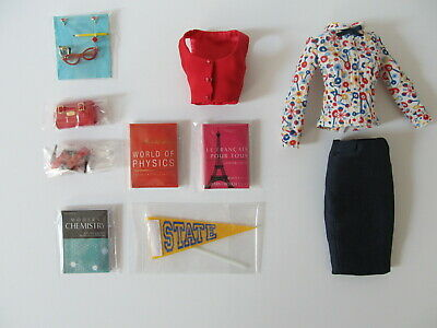 Poppy Parker Co-Ed Cutie Outfit & Accessories Only Sweetheart Collection
