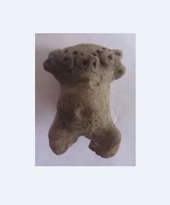 RARE FIGURE  Pre-Columbian Ancient Artifact Statue Sculpture