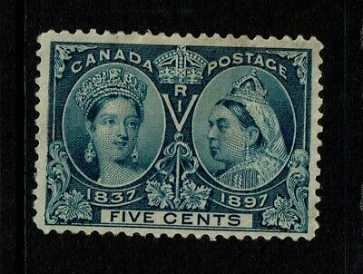 Canada SC# 54, Mint Hinged, Hinge/Page Remnants, few tone dots - S6778