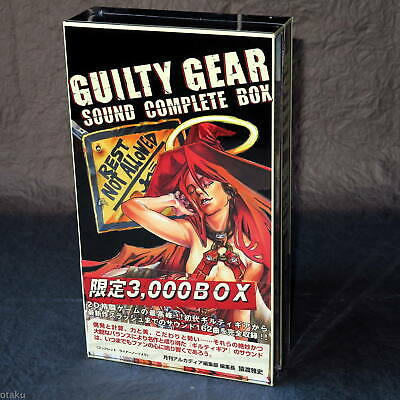 GUILTY GEAR SOUND COMPLETE Limited Edtion Game Music 8 CD BOX SET NEW