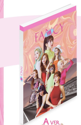 Twice-[Fancy You]7th Mini Album A Ver CD+Poster+Book+Card+Sticker+PreOrder+Gift