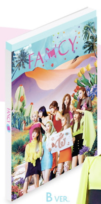 Twice-[Fancy You]7th Mini Album B Ver CD+Poster+Book+Card+Sticker+PreOrder+Gift