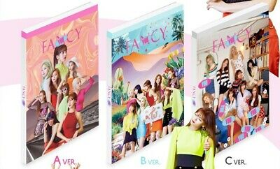 Twice-[Fancy You]7th Mini Album 3 SET CD+Poster+Book+Card+Sticker+Gift