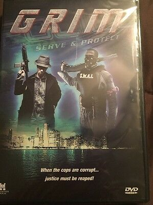 Grim DVD Vigilante Urban Crime Drama Movie Matty Johnson Derick Agyemang NEW!