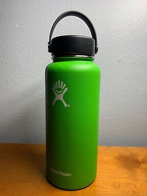HYDRO FLASK INSULATED Stainless Steel Water Bottle Wide Mouth W/Flex
