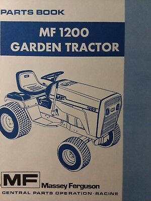 Massey Ferguson 65-7 Rotary Cutter Parts Book Tractor Manuals & Publications