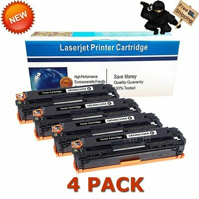 4PK BCYM Toner Cartridge for HP CB540A CB541A CB542A CB543A