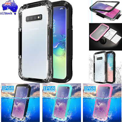 Waterproof Shockproof Dirt Proof Cover Case For Samsung Galaxy S10 S10+ Note10+