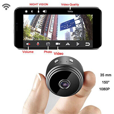 Mini HD 1080P Camera Wireless Wifi Security Cam Night Vision Motion Detects New
