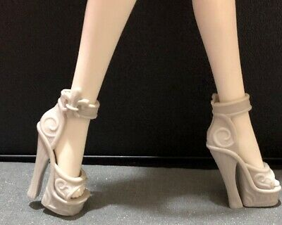 Monster High Doll Shoes Beige Shoes Rochelle Goyle 1st Wave