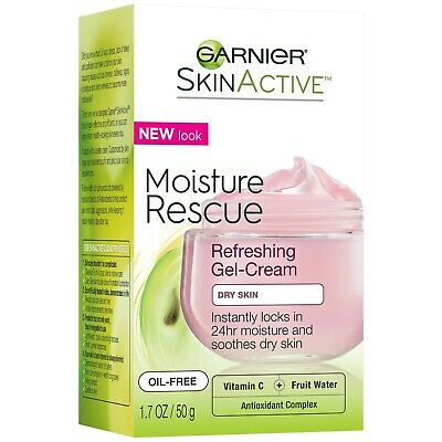 Garnier SkinActive Moisture Rescue Refreshing Gel-Cream for Dry Skin 1.7oz (50g)