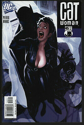 Catwoman 45. Eye-Catching Adam Hughes Cover