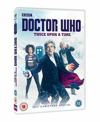 Doctor Who Christmas Special 2017 Twice Upon A Time DVD New 2018 Region 2