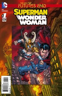 Futures End Superman Wonder Woman Lenticular Cover The New 52