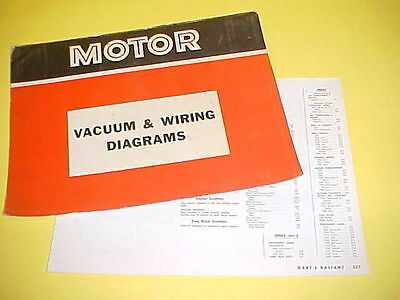 1965 1966 1967 1968 1969 plymouth barracuda dodge dart vacuum+wiring  diagrams