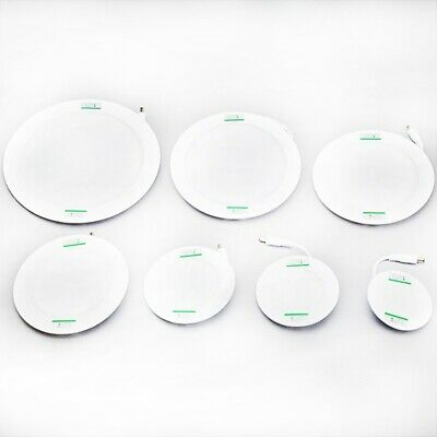 10X(LED Panel Light Ultra Thin Ceiling Recessed Grid Downlight Lamp Round 3w 43)
