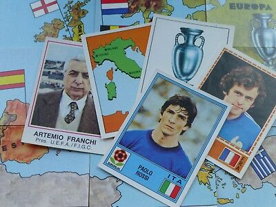 Panini Europa 80 Stickers - Complete Your Collection