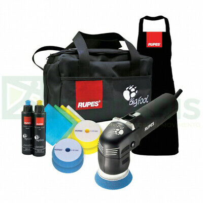 Rupes Lhr 75 E Electric Mini Random Orbital Polisher Bigfoot Kit Deluxe 220/240V