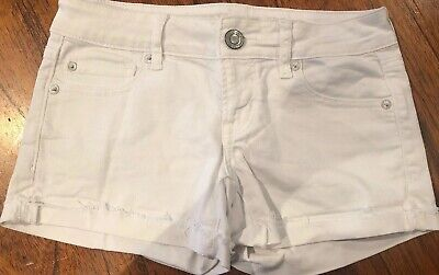 8e50830c17 AMERICAN EAGLE OUTFITTERS-GIRLS Stretch Shortie Denim Shorts-Size 6 ...
