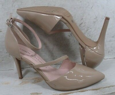 fd4779afef Chinese Laundry Womens Rocking Nude Patent Pumps Heels Shoes size 7.5 M