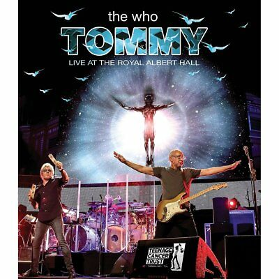 THE WHO New Sealed 2019 TOMMY & MORE LIVE ROYAL ALBERT HALL CONCERT DVD