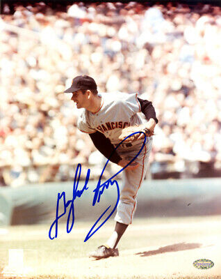 Gaylord Perry Autographed Signed 8X10 Photo San Francisco Giants Mcs Holo 125928