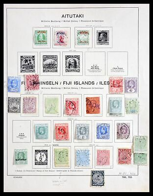 Lot 29932 Collection stamps of British colonies 1880-1953.