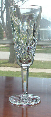 """Waterford Lismore Champagne Flutes / 7 1/4"""" / Mint Condition"""