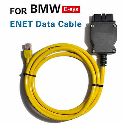 HOT! BMW ENET Interface Cable E-SYS ICOM Coding F-Series OBD2 Diagnostic Cable