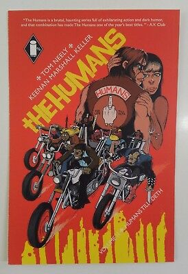 SDCC 2018 *The Humans* Comic Book TOM NEELY Promo Flyer/Postcard/Mini-Print 4x6